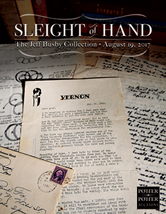 Sleight of Hand - The Jeff Busby Collection