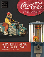 Advertising, Toys, CoinOp
