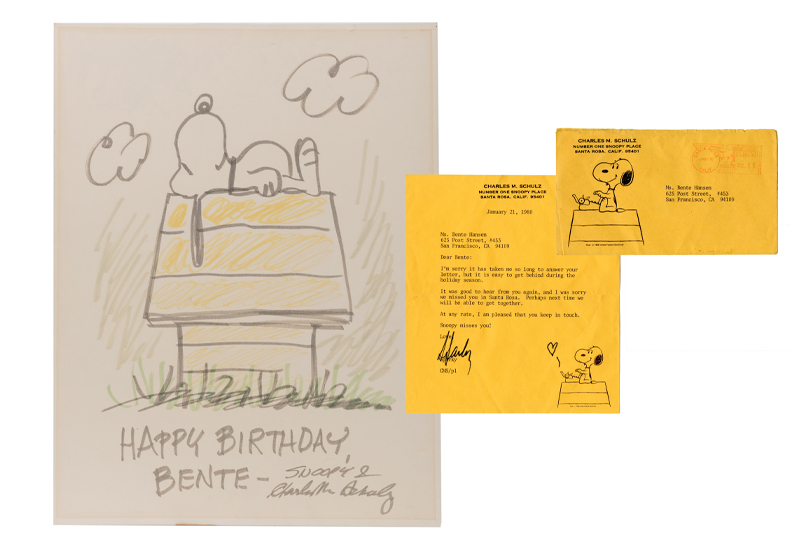 Charles Schulz Typed Letter Signed