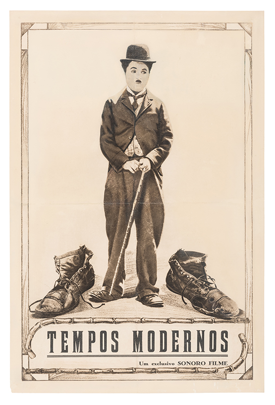 Charlie Chaplin Modern Times re-release poster