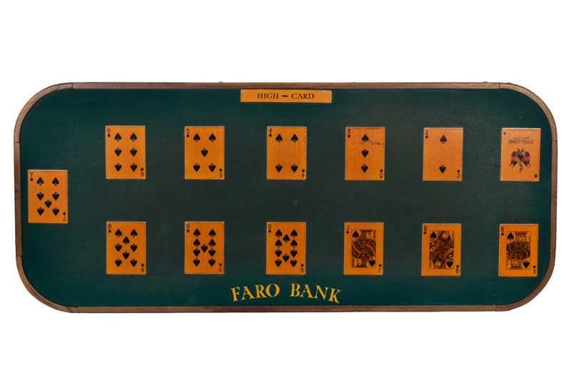 B.C. Willis Faro Bank Layout