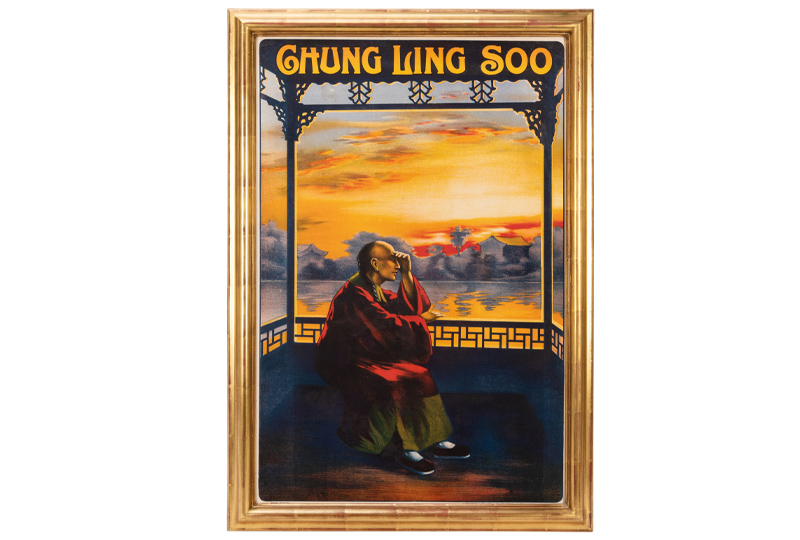 Chung Ling Soo. Ashton-Under Lyne: Horrocks & Co., ca. 1910