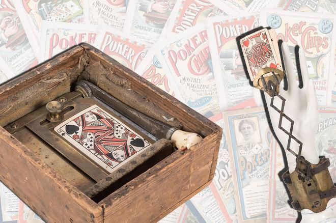 Gambling Memorabilia Auction Features Rare Relics from Poker's Past